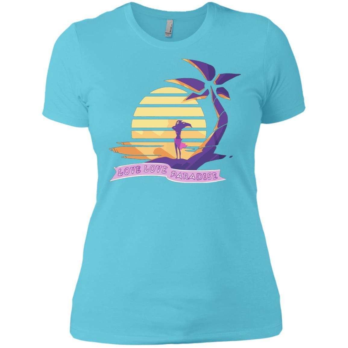 Aphmau Love - Love Paradise - Ladies' Boyfriend T-Shirt Cancun / 3XL