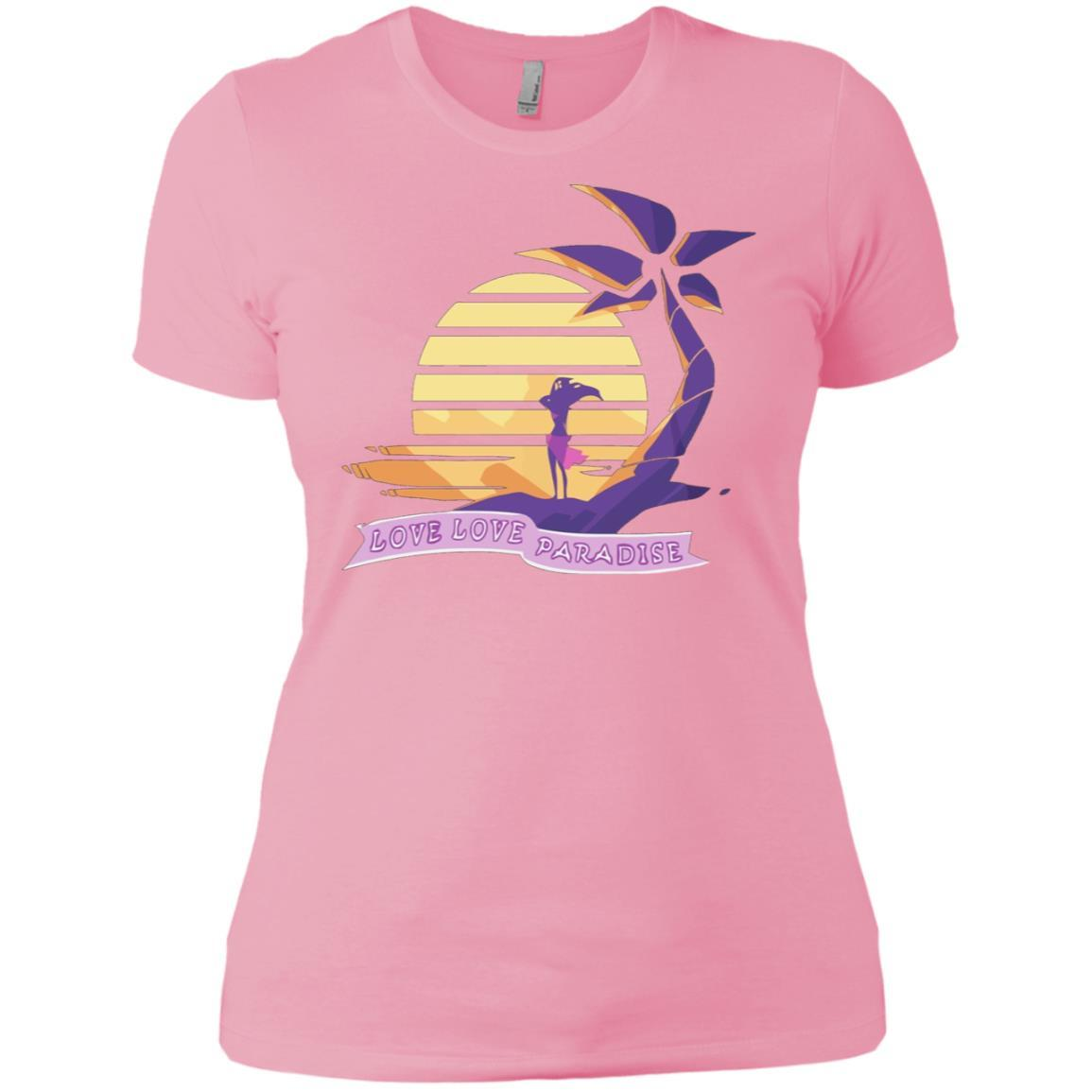 Aphmau Love - Love Paradise - Ladies' Boyfriend T-Shirt Light Pink / 3XL