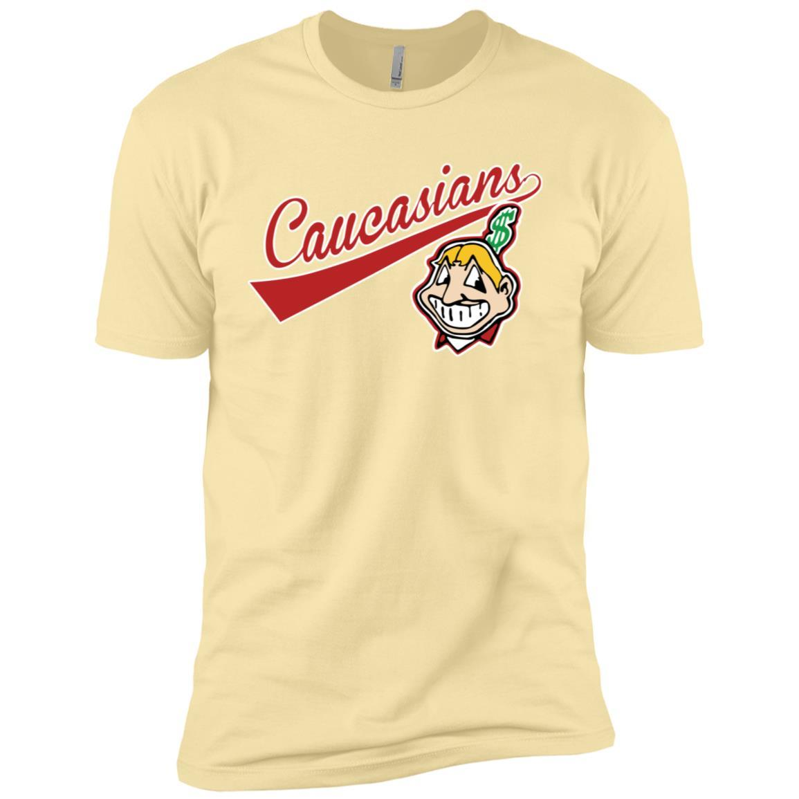Cleveland Caucasians Native Go Indians Banana Cream / 3XL