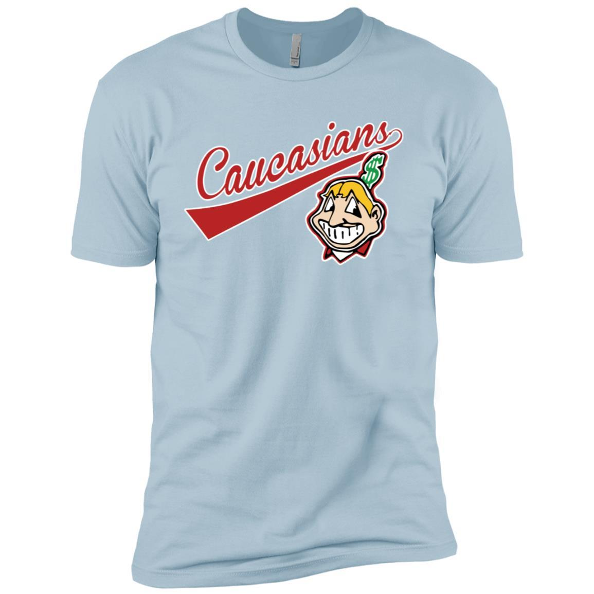 Cleveland Caucasians Native Go Indians Light Blue / 3XL