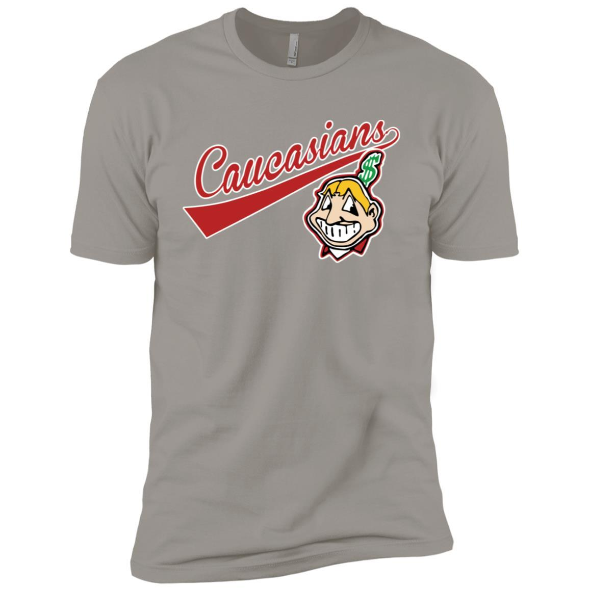 Cleveland Caucasians Native Go Indians Light Grey / 3XL