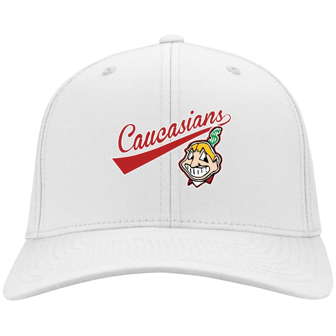 Cleveland Caucasians Native Go Indians – Port & Co. Twill Cap