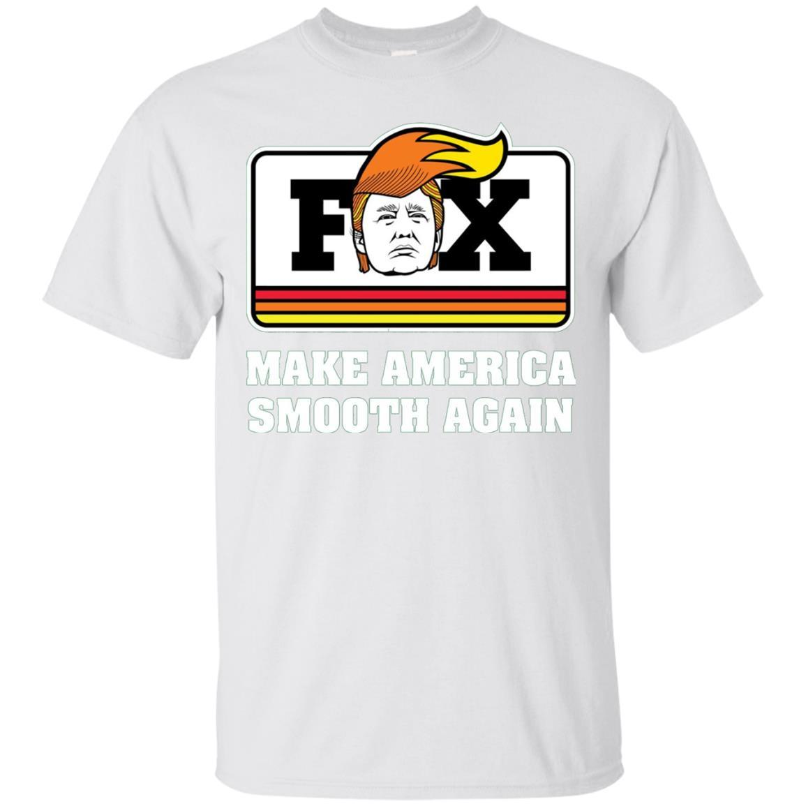 Fox Trump - Make America Smooth Again - Funny Cycle - T-Shirt