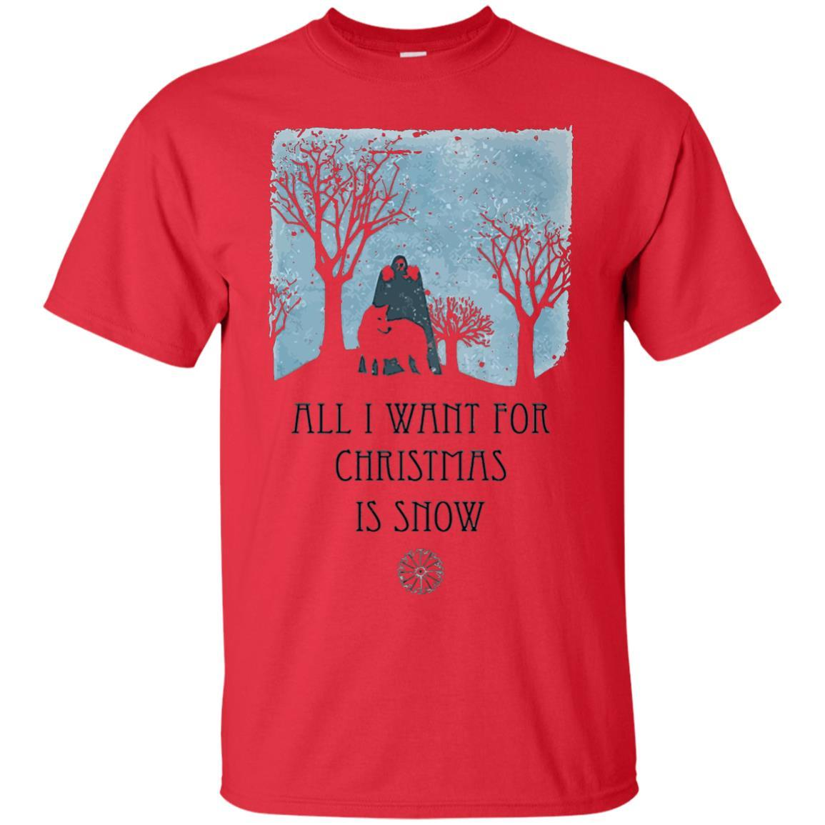 All I Want For Christmas Is Snow Game Shirt