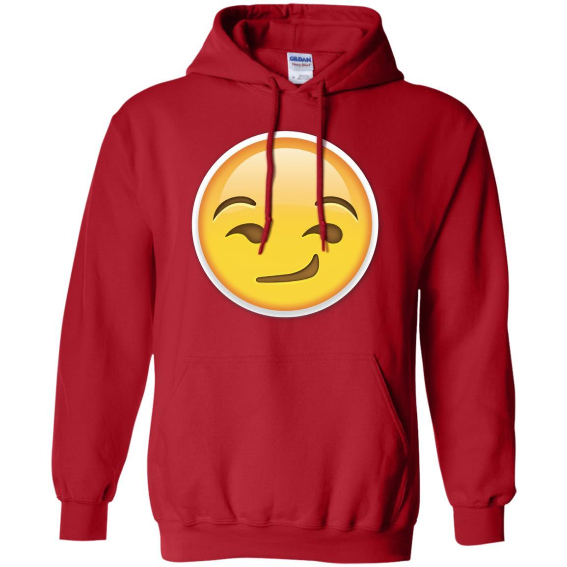 Smirk Emoji T-Shirt Smile Smiley Emoticon Funny Face