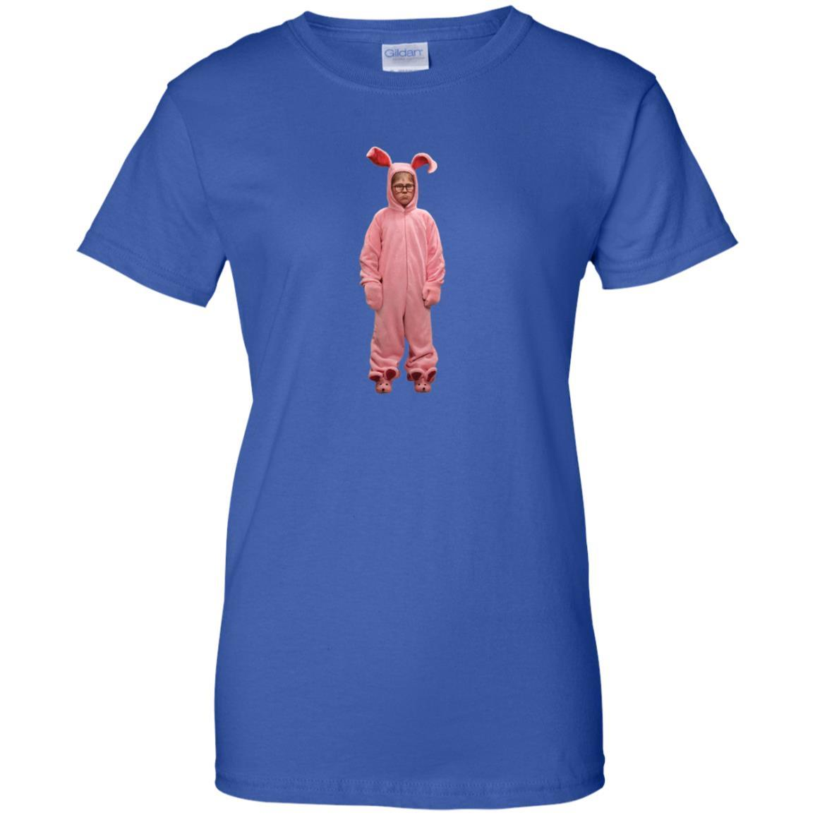 A Christmas Story Pink Bunny suit photo