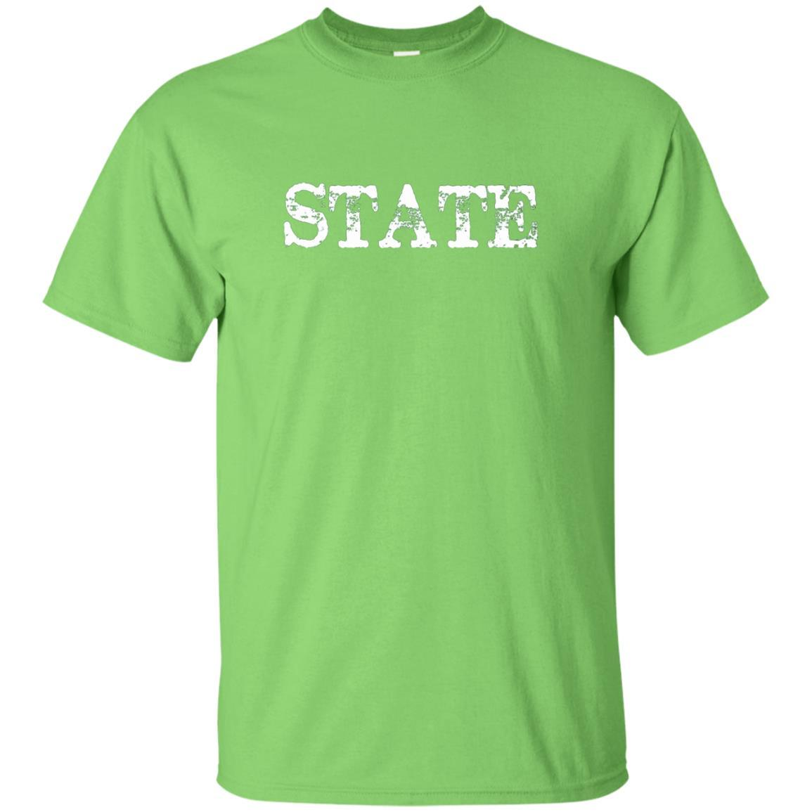 Distressed Michigan State College T-Shirt