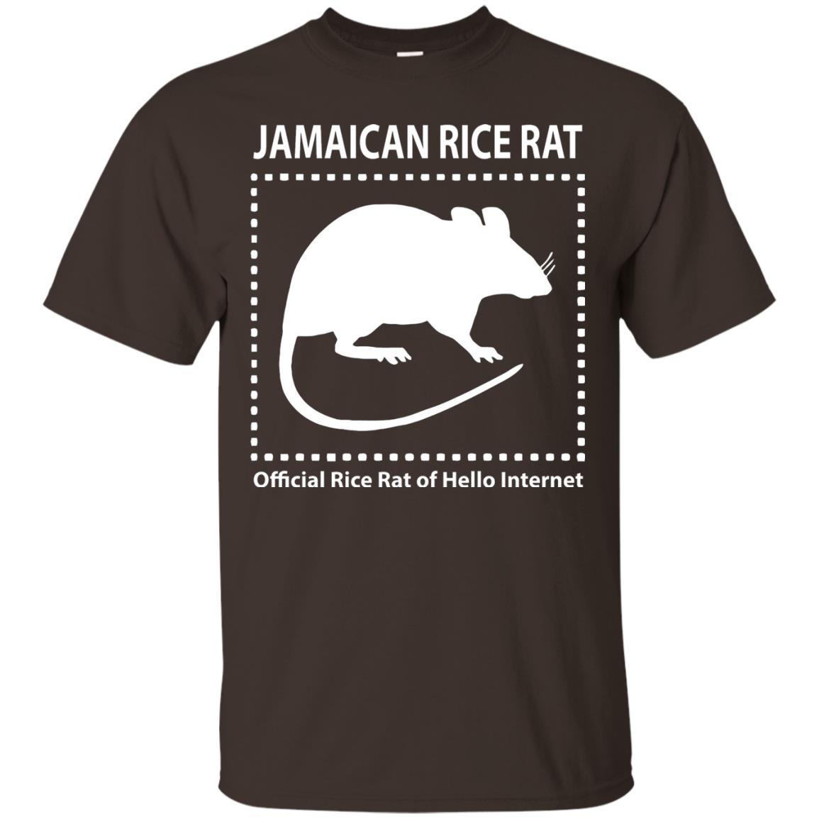 Jamaican Rice Rat Official Rice Of Hello Internet TShirt