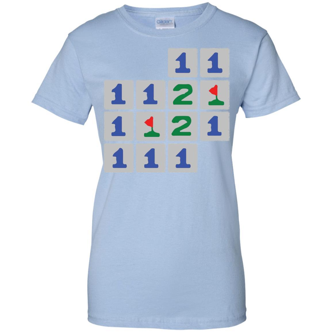Old School Vintage Minesweeper PC Game Bomb Escape T-Shirt