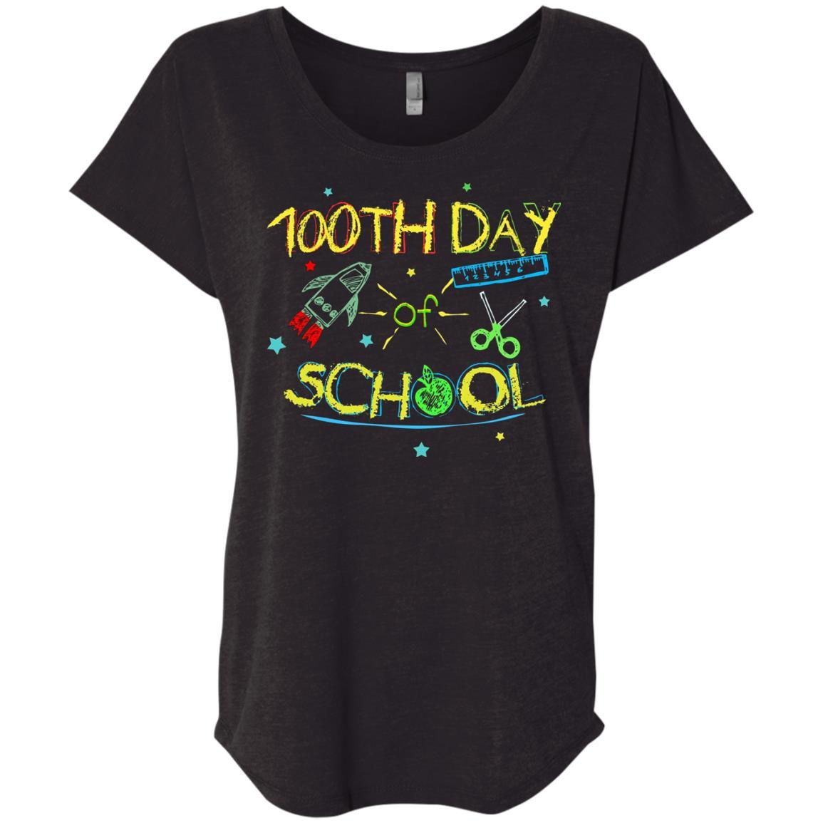 100th Day Of School - School Project and Gift Idea T-Shirt