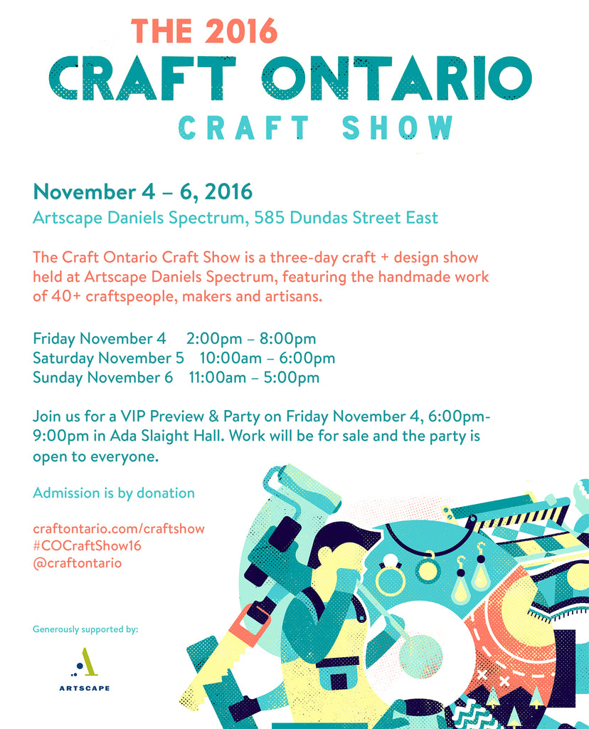 2016 Craft Ontario Craft Show