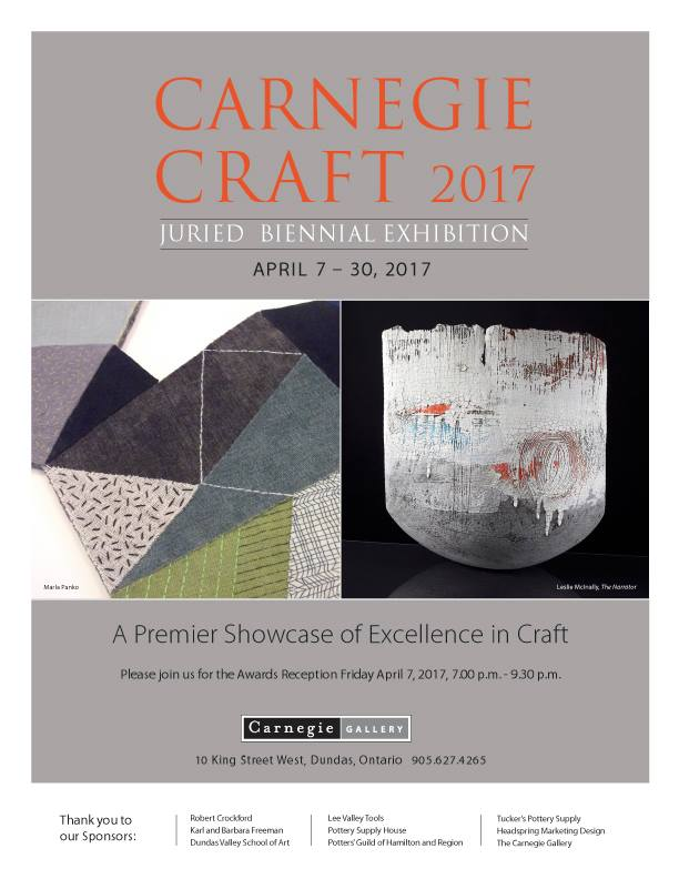 Carnegie Craft 2017 Juried Biennial Exhibition