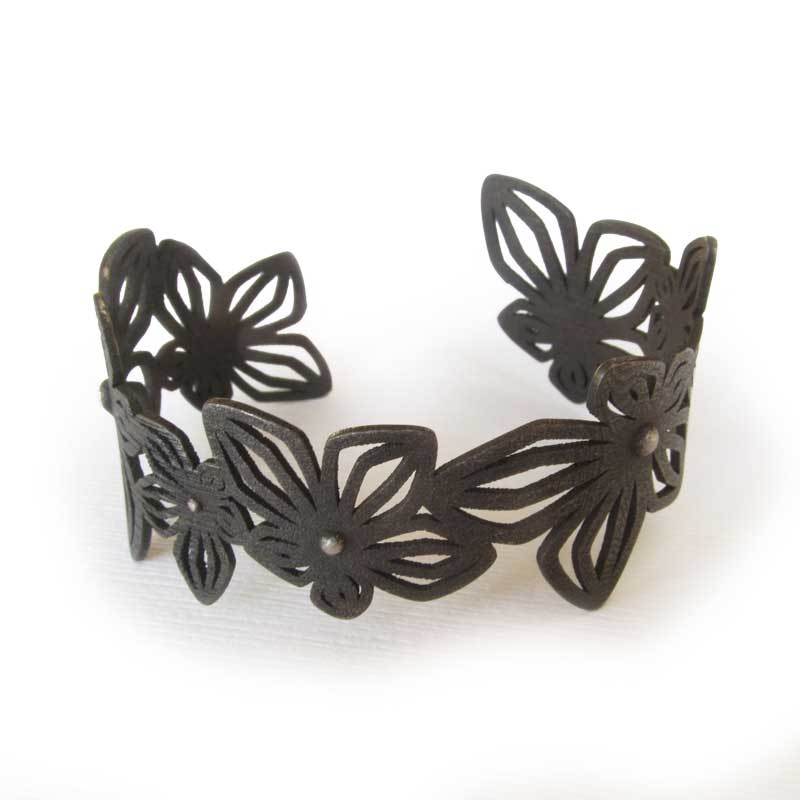 3D Printed Black Jewelry