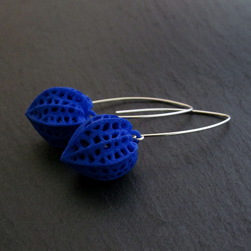 Blue everyday earrings