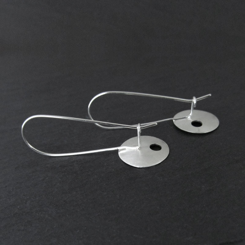 kidney wire earrings