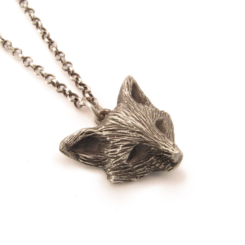 Sterling Silver Fox Pendant, Charm