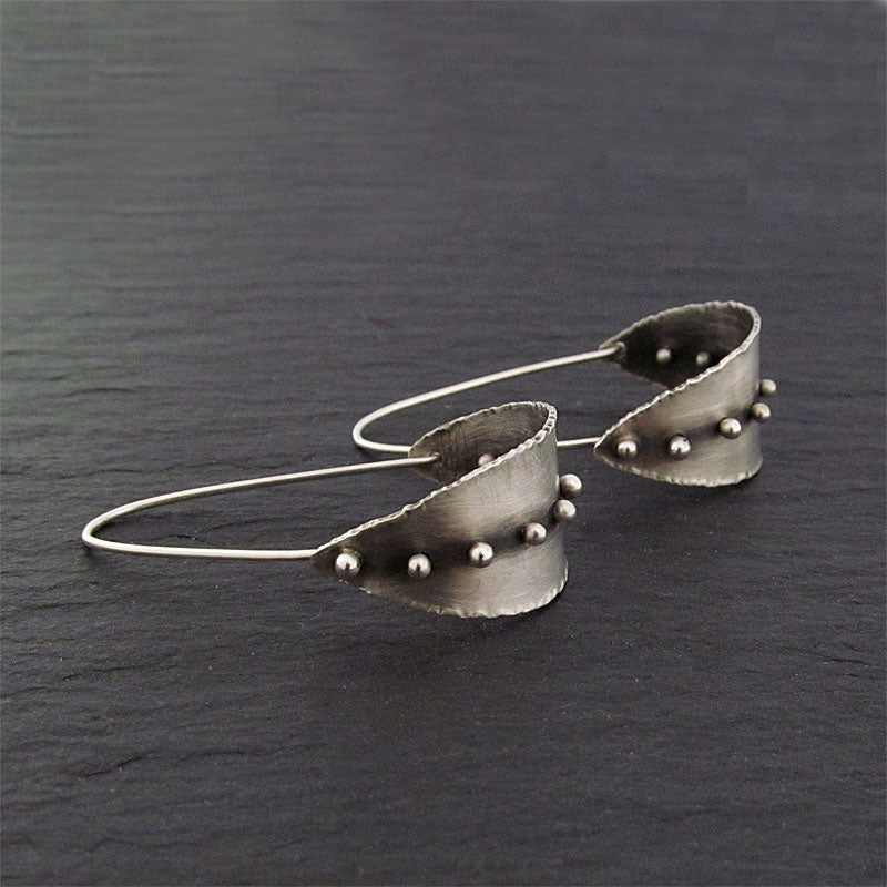 Handmade sterling earrings