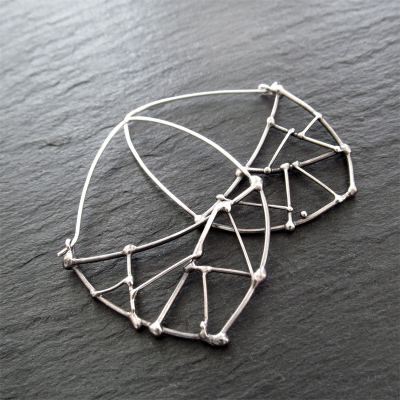 Nest Hoop Earrings