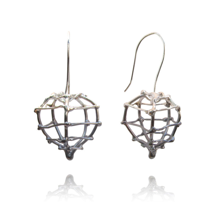 Small Physalis Earrings