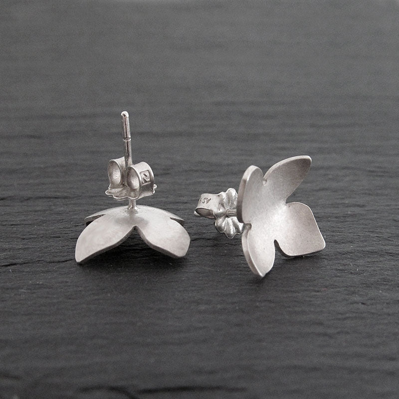Pretty silver earrings