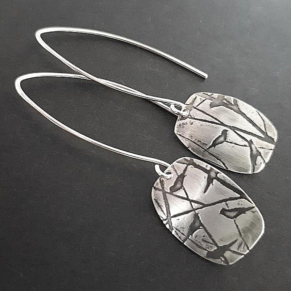 Square Nature Earrings