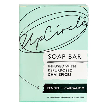 UpCircle soap bar fennel & Cardomom