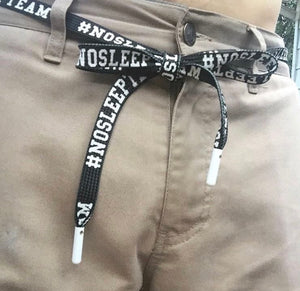 NoSleepTeam ShoeString Belts