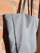 Load image into Gallery viewer, blue tote bag