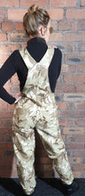 Load image into Gallery viewer, army camouflage dungarees size 8-10