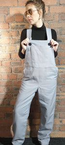 Lilac dungarees size 12-14