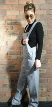 Load image into Gallery viewer, Lilac dungarees size 12-14