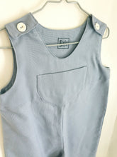 Load image into Gallery viewer, Kids dungarees with front pocket age 18-24 mths