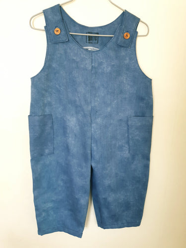 Kids dungarees with side pockets age 12-18 mths