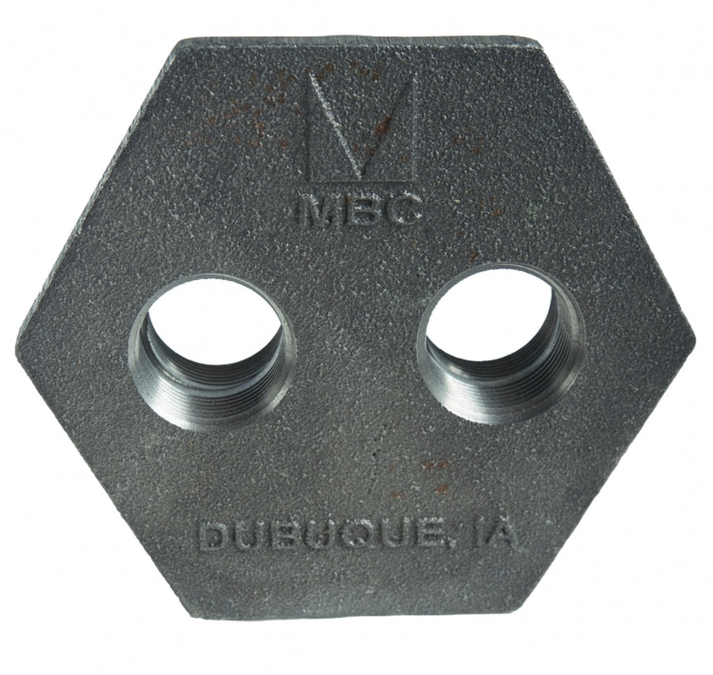 Morrison Bros. 184D Series 4 in. x 3/4 in. x 3/4 in. Duplex Bushings