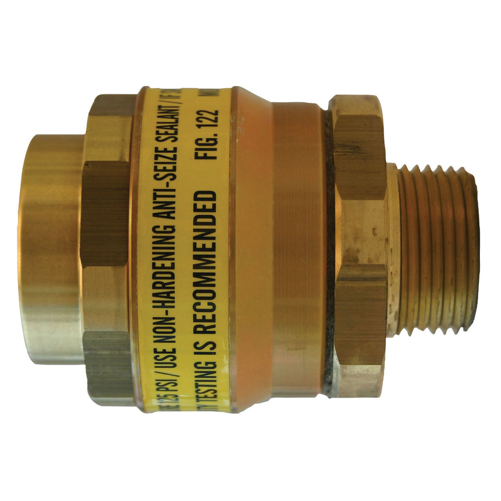 Morrison Bros. 1 in. Brass Swivel