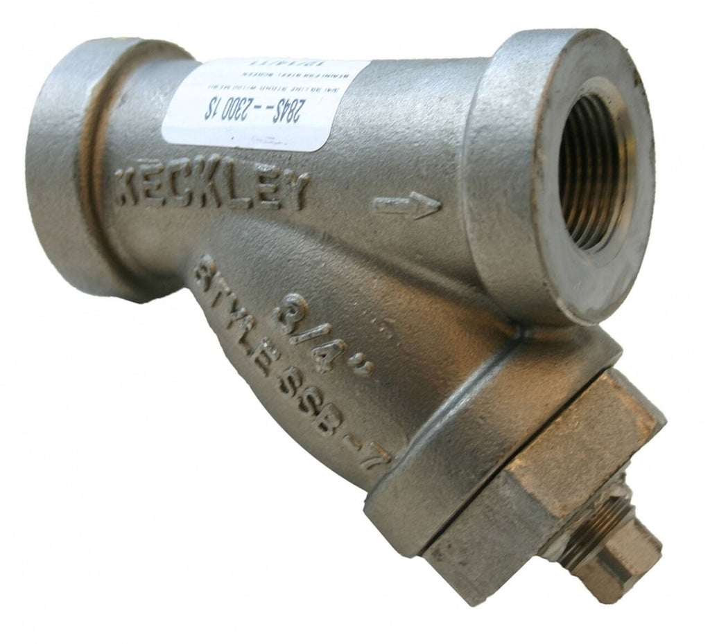 Morrison Bros. 284S Series 3/4 in. Stainless Steel Line Strainers