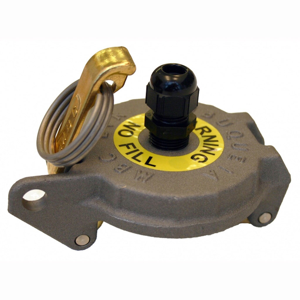 Morrison Bros. 2 in. 305XP Series Tank Monitoring Cap w/ 3/8 in. Port Hole & Cable Connector