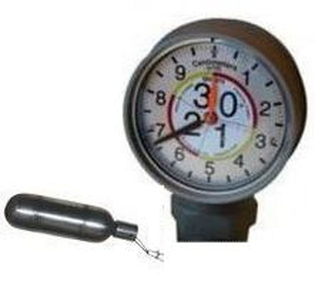 Morrison Bros. 2 in. Male NPT Clock Gauge - Meters & Centimeters