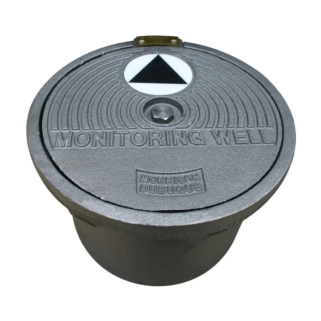 Morrison Bros. 519 Series 9 in. Watertight Test Well Manhole w/ 8 in. Skirt