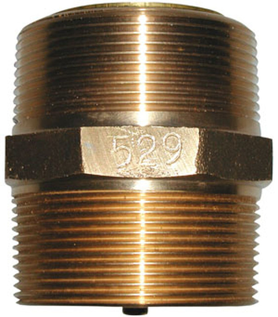 Morrison Bros. 529 Series 2 in. NPT Brass Nipple Check Valve