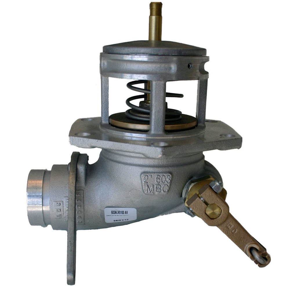 Morrison Bros. 603 Series 3 in. Manually Operated Grooved Emergency Valve w/ Buna-N Seal