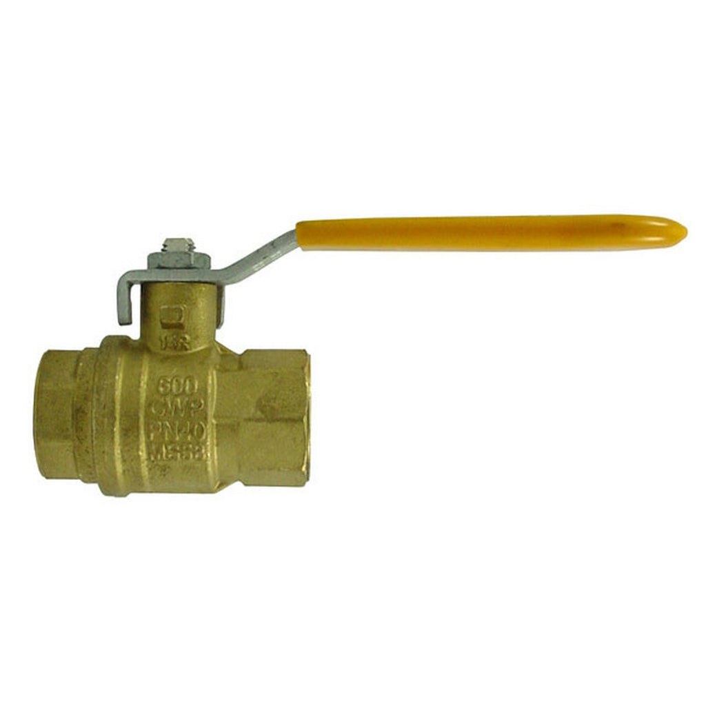 Morrison Bros. 691 Series 3 in. NPT Brass Ball Valve - Full Port