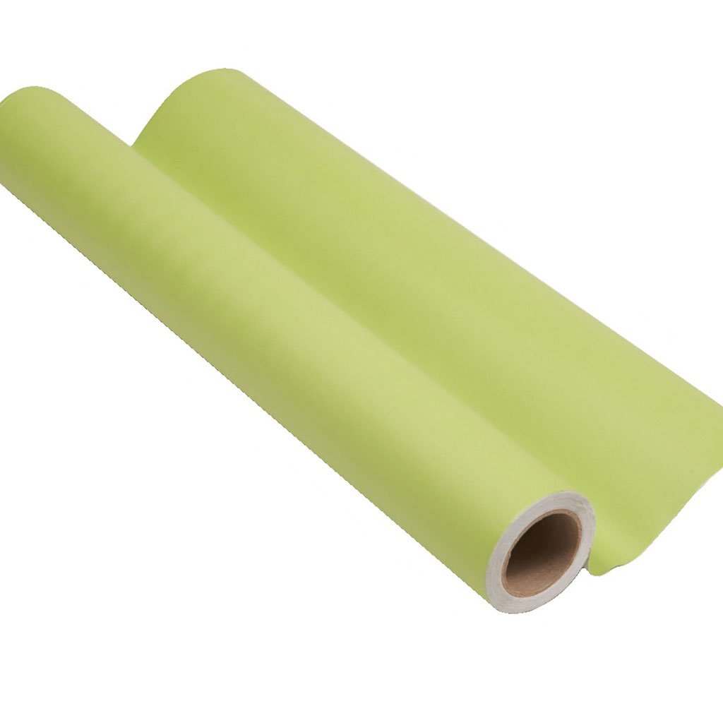 Bright green peel and stick removable paint and bright green color wall paper roll - Willow Green TemPaint