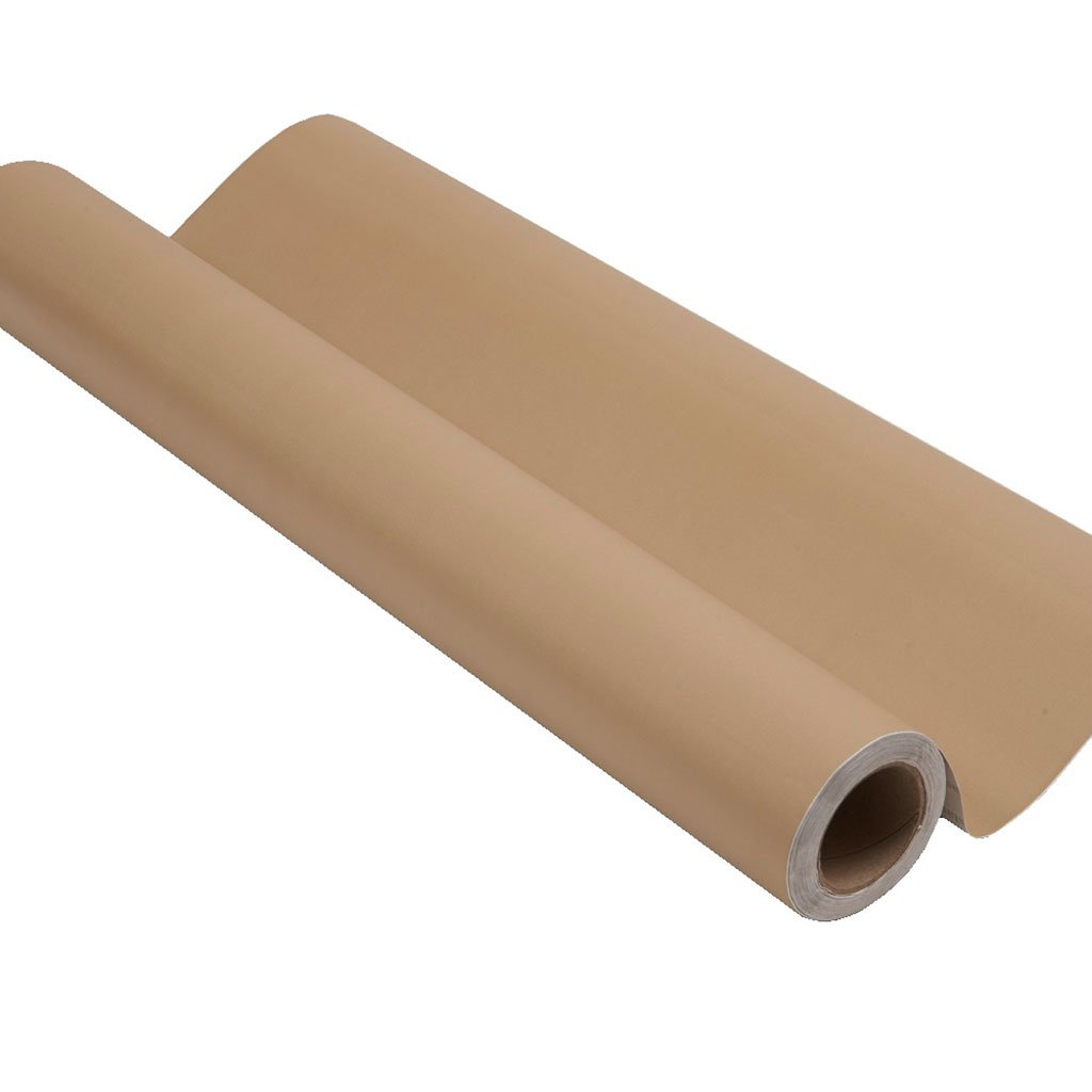 Brown peel and stick removable paint and brown color wall paper roll - Saharan Camel TemPaint