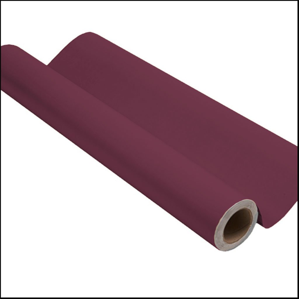Purple peel and stick removable paint and solid purple wallpaper roll - California Merlot TemPaint