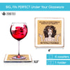 Diva Funny Coasters for Drinks - Wine Gifts for Women - Funny Gifts for Women