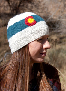The Colorado Hand Knit Hat - living-water-fibers-and-alpacas