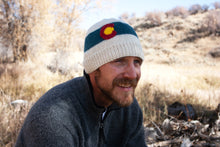 Load image into Gallery viewer, The Colorado Hand Knit Hat - living-water-fibers-and-alpacas