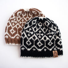 Load image into Gallery viewer, The Maggie Hand Knit Hat - living-water-fibers-and-alpacas