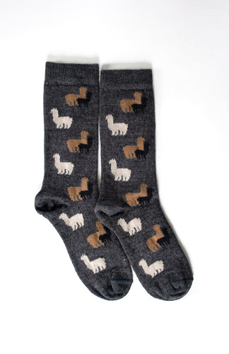 Alpaca Herd Socks - living-water-fibers-and-alpacas
